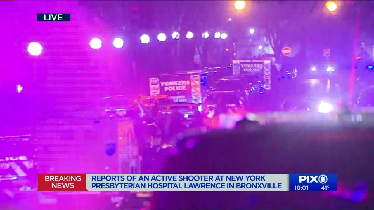 Police responding to `ongoing situation` at NewYork-Presbyterian Lawrence  Hospital in Bronxville