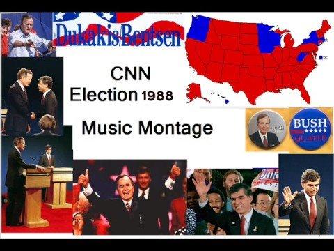 CNN Election 88 Music Montage