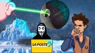 Communication au laser, fonte du Groenland, hacker la Poste - L