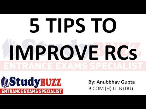 5 tips to improve RC- How to solve CAT reading comprehensions accurately?