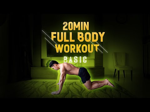 [Level 2] 20 Minute Fat Burning Workout