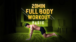 (New!) 20 Minute Fat Burning Workout - Level: Easy