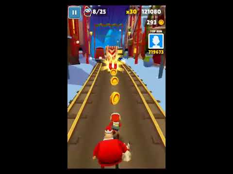 [Subway Surfers] Pick up 300 coins without touching the ground