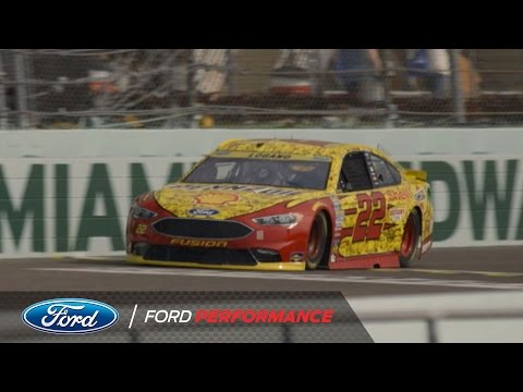 Ford Championship Weekend 2016: Behind the Scenes with Joey Logano   NASCAR   Ford Performance