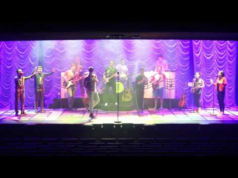 """Rare Buddy Holly Story 2017 cast rehearsal footage - """"The Day The Music Died"""""""