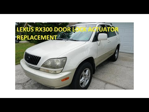 Lexus RX300 Door Actuator Replacement