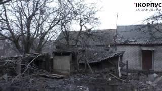 Тяжелый бой за Чернухино ополченцы Часть 1 7 02 2015