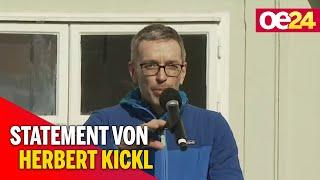Demo gegen Corona-Maßnahmen: Statement von Herbert Kickl