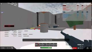 Let's Play Roblox-Call of Robloxia 5 Roblox At War-SMG PWNAGE :D!