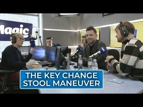 Westlife Key Change Stool Maneuver | Emma B Chats To Westlife