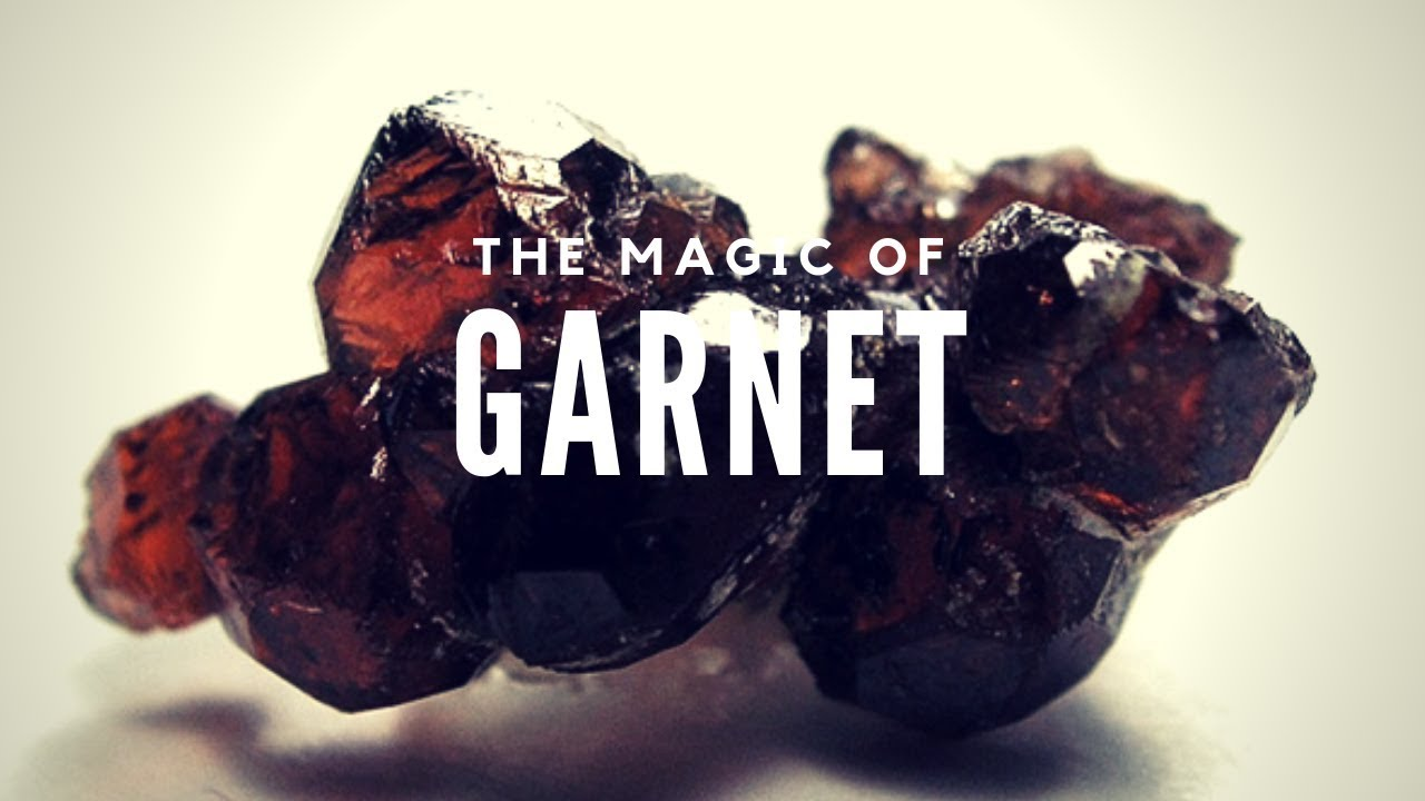 The Primordial Fire: Garnet Stone Meaning and Uses -- Crystal Meanings