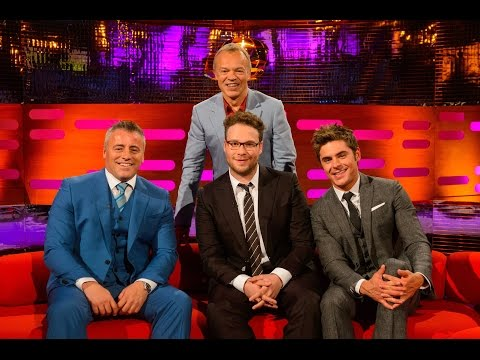 The Graham Norton Show with Zac Efron, Seth Rogen, Matt LeBlanc (русские субтитры)
