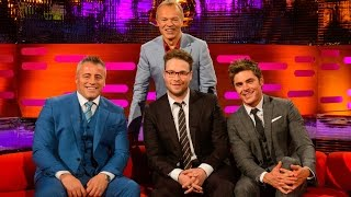 connectYoutube - The Graham Norton Show with Zac Efron, Seth Rogen, Matt LeBlanc (русские субтитры)