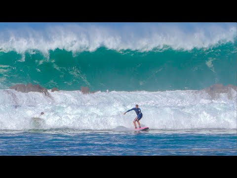 THIS WAVE WAS SO DANGEROUS! (SHARKS COVE HAWAII)