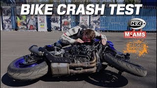 Bike Crash Test With R&G & McAMS