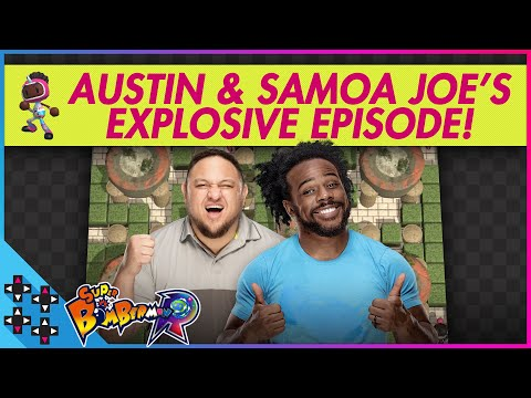 SAMOA JOE is the BOMB DOT COM! - Super Bomberman R - UpUpDownDown Plays