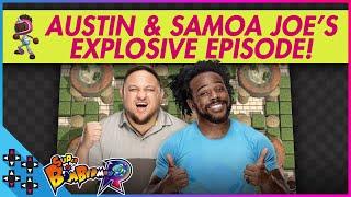 SAMOA JOE is the BOMB DOT COM! - Super Bomberman R - UpUpDownDown Plays
