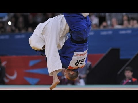 Judo – JPN versus BLR – Men -73 kg Preliminary Round of 16 – London 2012 Paralympic Games