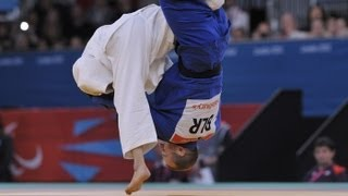 Judo - JPN versus BLR - Men -73 kg Preliminary Round of 16 - London 2012 Paralympic Games