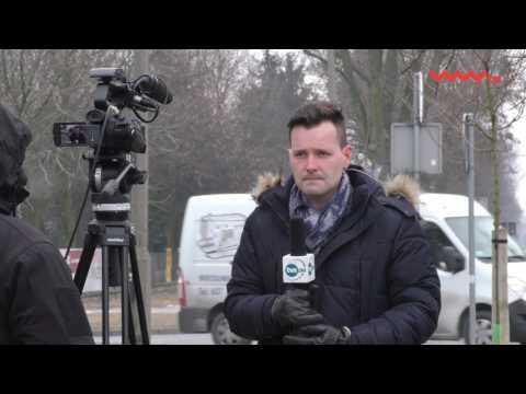 """#Aktualności - TVN24 """"na żywo"""" sprzed siedziby """"WW"""""""