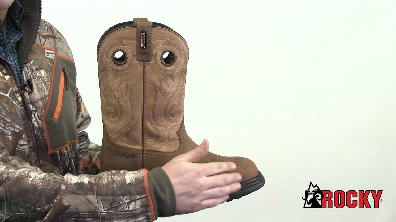 b78d1661fa7 Rocky Original Ride Composite Toe Waterproof Insulated Western Boot Style#  - RKW0134