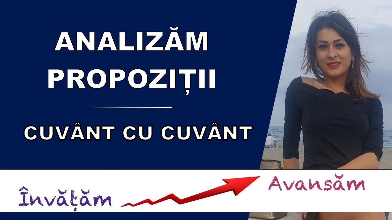 Analizam propozitii cuvant cu cuvant - Invata Franceza cu Ioana [Invatam - Avansam]