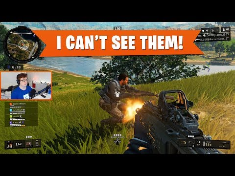 I CANT SEE THEM! | Black Ops 4 Blackout | PS4 Pro