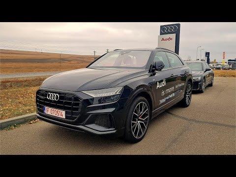Cum merge? Audi Q8 50 TDI - va bate BMW X6 și GLE Coupe?