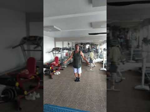 Vinod Nevada gym workout