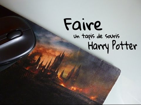 Tuto Tapis De Souris Harry Potter Youtube