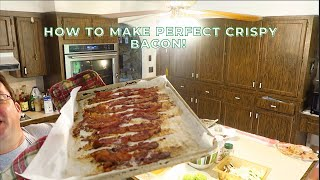 How To Bake Crİspy Rustic Bacon *PERFECT BACON*