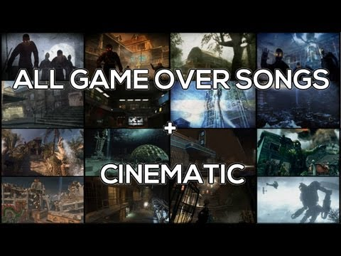 [OLD. CHECK DESCRIPTION FOR NEW ONE] All Zombie Game Over Songs w/ Cinematic (Nacht - Origins)