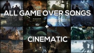 All Zombie Game Over Songs w/ Cinematic (Nacht - Origins)