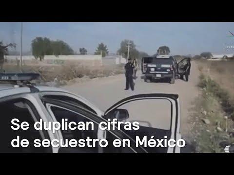 Cifras de secuestros en México se duplicaron durante este sexenio - Las Noticias con Danielle