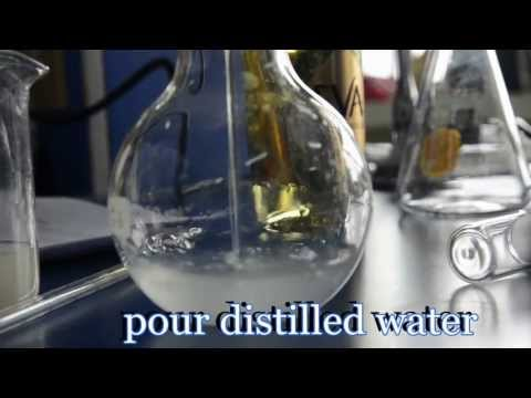 Determination of Alcohol by Titration