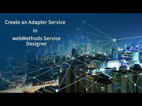 Creating Adapter Services Using webMethods Service Designer | Software AG