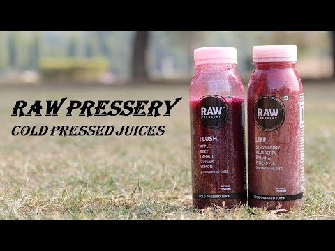 Raw Pressery Juices Taste Test | Best Cold Pressed Juice in