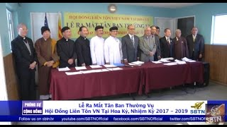 PHÓNG SỰ CỘNG ĐỒNG: Tân Ban Thường Vụ Hội Đồng Liên Tôn Việt Nam tại Hoa Kỳ
