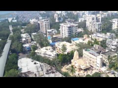 Low Flying in Mumbai (HD)