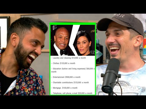 Dr  Dre's Wife BEATS Up His Bank Account in Divorce | Andrew Schulz and Akaash Singh