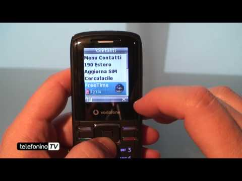 Vodafone 231 videoreview da Telefonino.net