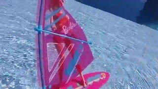 Windsurf da Barbie - Planche à voile - Unboxing - Ísis Portilho
