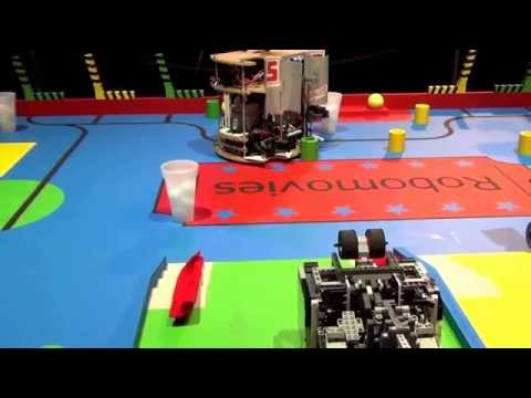 2015 - PM-ROBOTIX (46) vs Astro Monkeys (0) - Coupe de France Robotique 2015