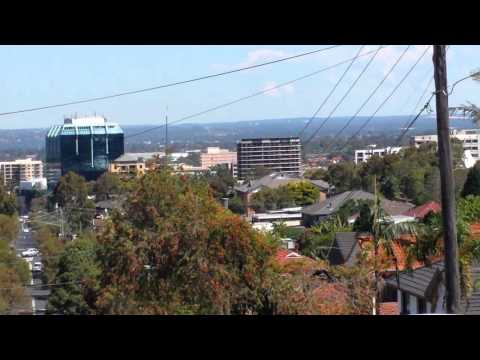 View from Bankstown Sydney
