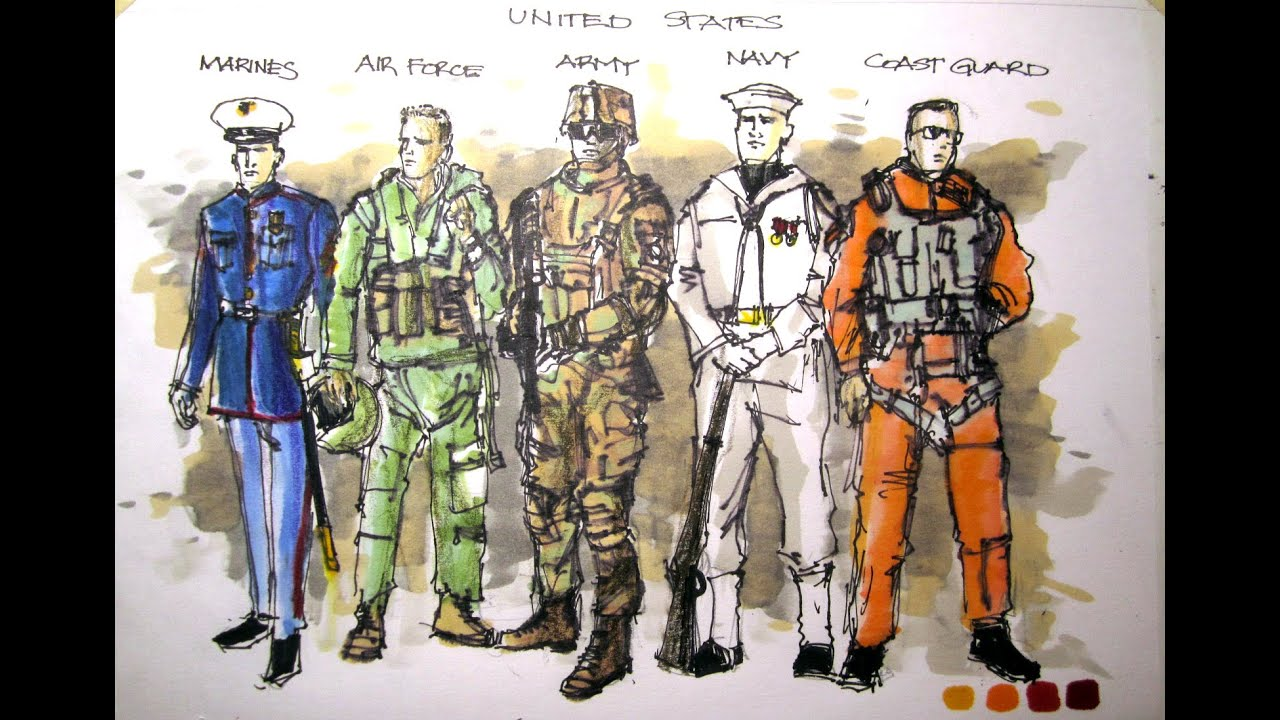 Military series us armed forces all who served time lapse military series us armed forces all who served time lapse drawing youtube publicscrutiny