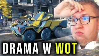 DRAMA Z POJAZDAMI KOŁOWYMI - World of Tanks