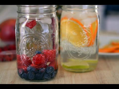 Flavored Water Recipe - How To Add Flavor To Water - Sweet y Salado