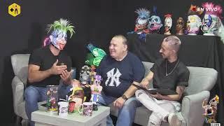 Super Porky vs Psycho Circus | Un pedacito de la entrevista con papá, Brazo de Plata | Psycho Clown