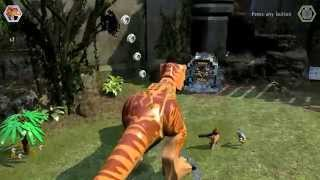 LEGO Jurassic World - Collect Ghost Studs Red Brick Unlock Location
