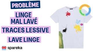 Linge Pas Lavé Ou Traces Lessive Sur Le Linge - Lave-Linge